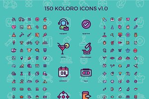 150 Koloro Icons v.1.0