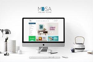 Mesa - Book Store WordPress Theme