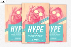 HYPE WOMEN Flyer Template