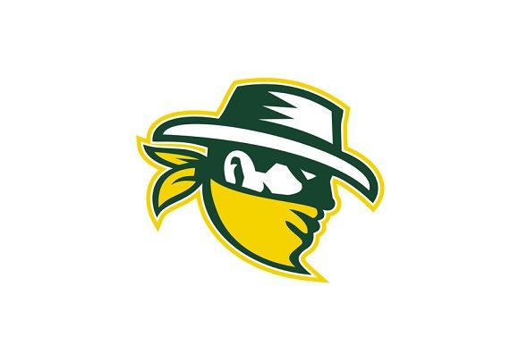 Green Bandit Mascot