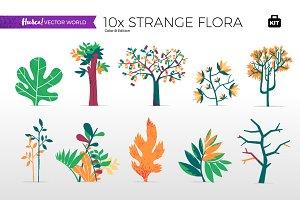 Strange Flora - Vector World