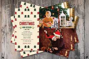 Christmas Mini Session Card