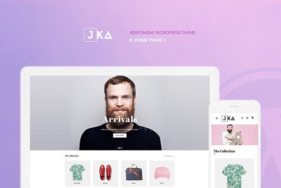 Jka - Fashion WordPress Theme in WordPress Commerce Themes