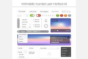 Website interface template design