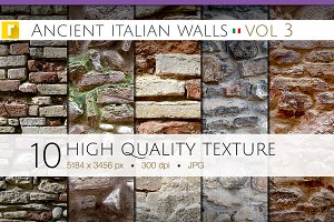 Ancient Italian Walls - Vol 3