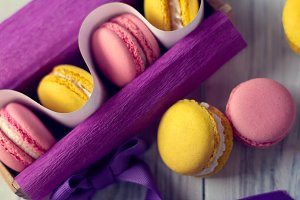 the French tradition - macaroons