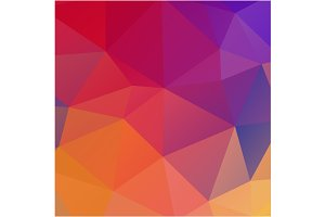Colorful triangles background.