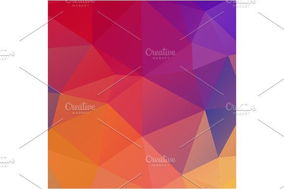 Colorful triangles background. in Patterns