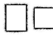 Grunge Rough Frames Vectors