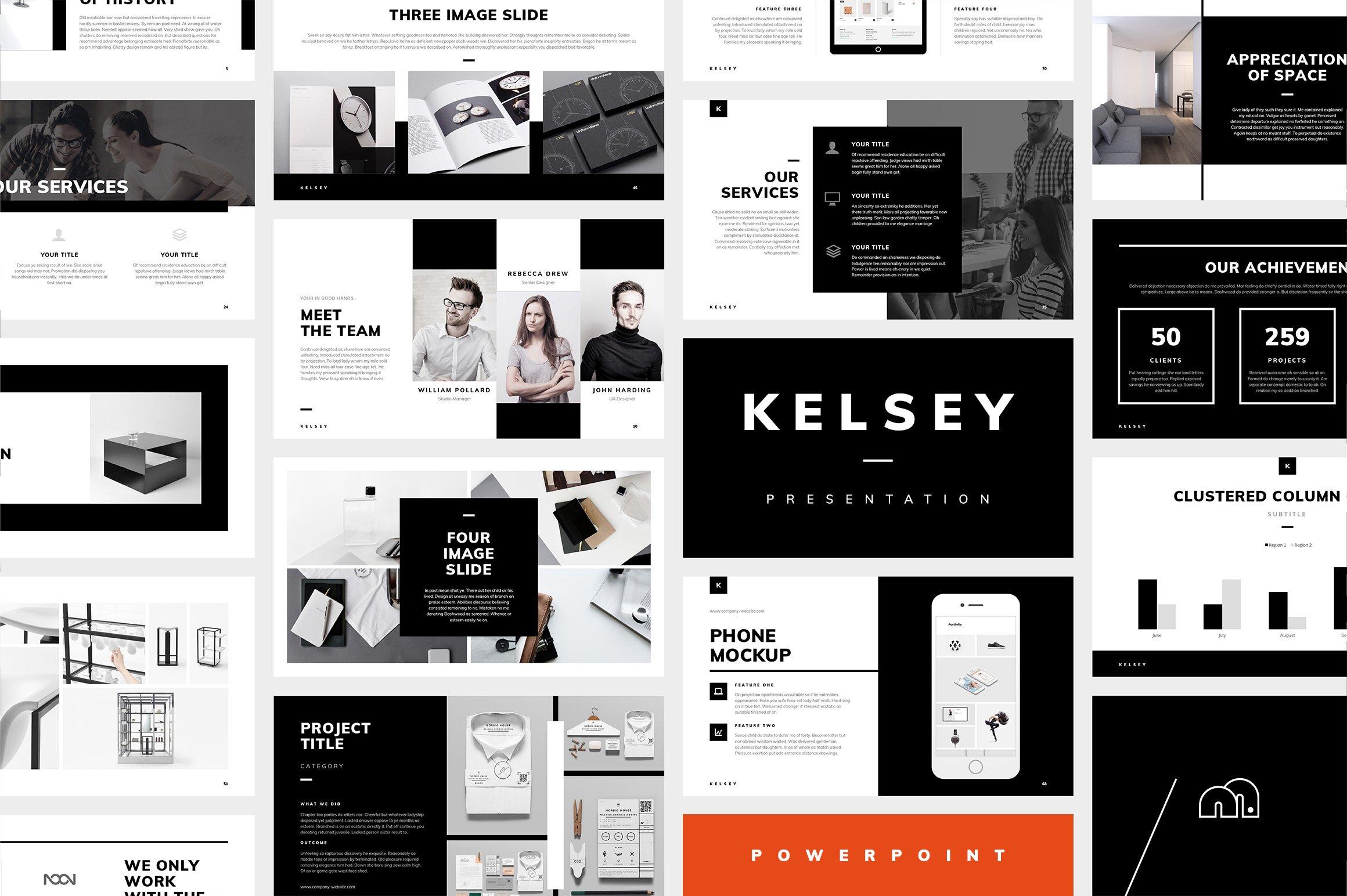 Powerpoint Kelsey Powerpoint Templates Creative Market
