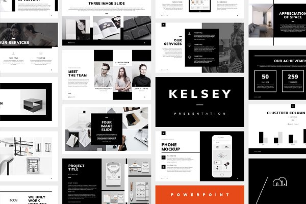 PowerPoint - Phase ~ PowerPoint Templates ~ Creative Market