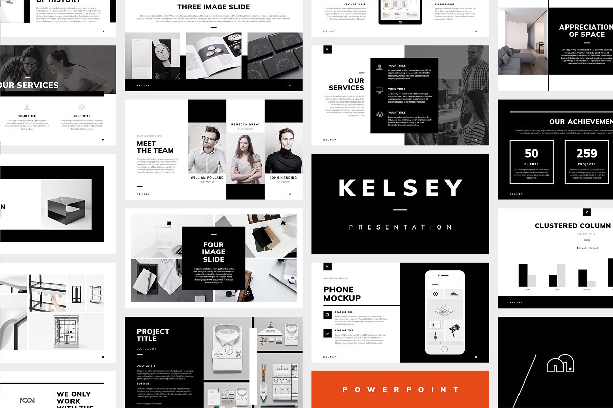 PowerPoint Presentation Template from Kelsey