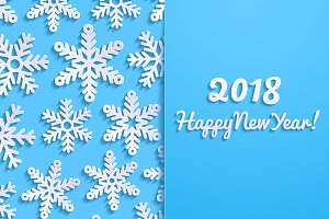 2018 New Year Greeting Cards
