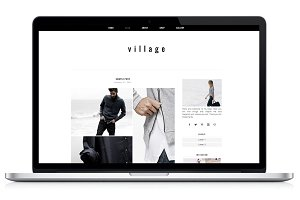 Woocommerce WP Theme - Village
