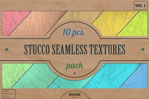 Stucco Seamless HD Textures Pack v.1