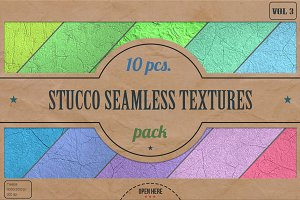 Stucco Seamless HD Textures Pack v.3