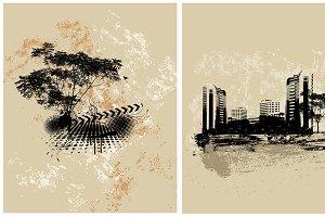 Grunge Urban Vectors