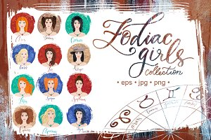 Zodiac girls collection