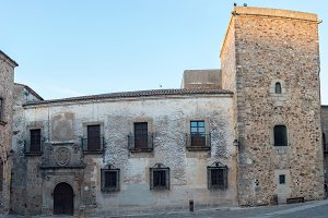 Center of Caceres