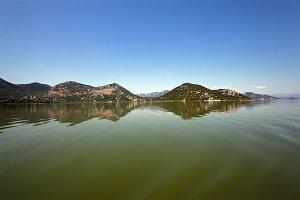 Skadar Lake . Montenegro.