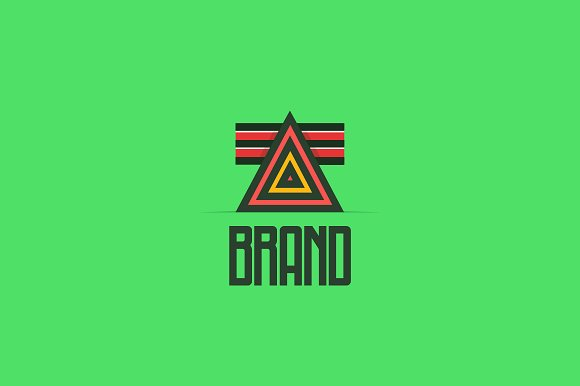 Davinci's Triangle Logo