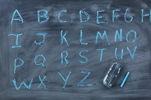 Learning English Alphabet