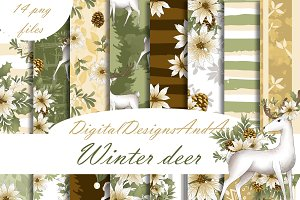 Winter deer papers