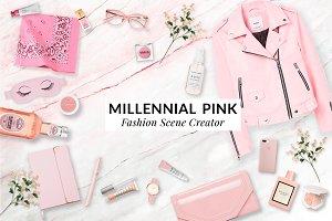Millennial pink custom scene creator