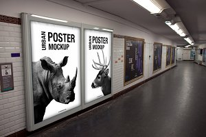 Urban 2 Poster Mockup