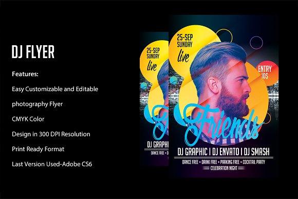 Club DJ Flyer-Graphicriver中文最全的素材分享平台