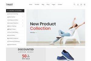 Tmart - Minimalist eCommerce HTML5