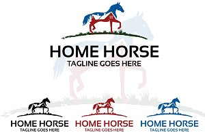 home horse – Logo Template