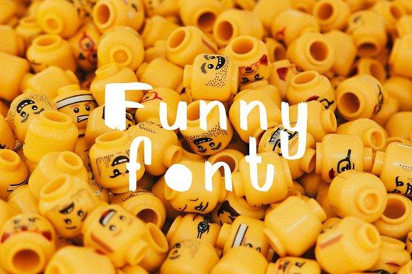 FunnyFont Brush Font