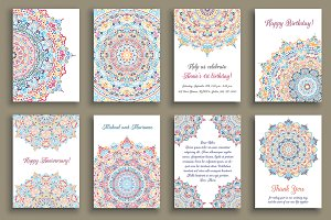 Mandala Greeting Cards
