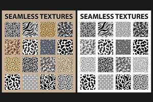 Vector Seamless textures pack