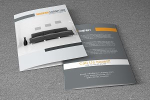 Interior Brochure Template-V770