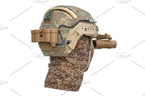 Helmet Camouflage Protection
