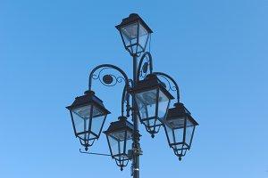 Retro street lamp 1