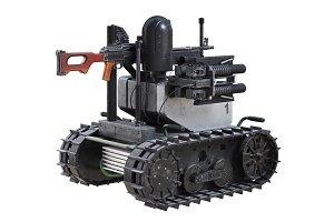 Military robot tracks
