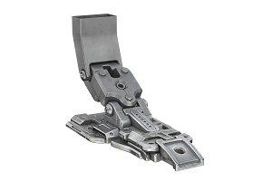 Sci-fi robot leg
