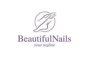 Beautiful Nails Logo