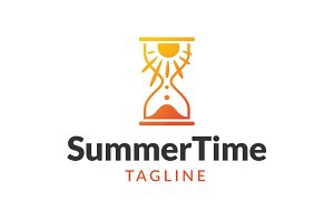 Summer Time Logo Template