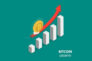 Bitcoing growth