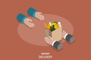 Grocery fast delivery