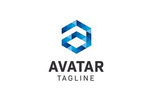 Avatar Logo Letter A