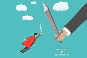 Small business VS big