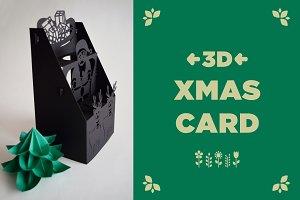 3D XMAS CARD
