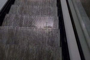 escalator stairs steps