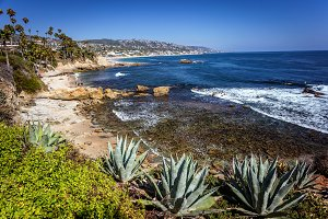 Hesler park in Laguna Beach California