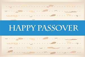Happy Passover Set (Jewish Holiday)